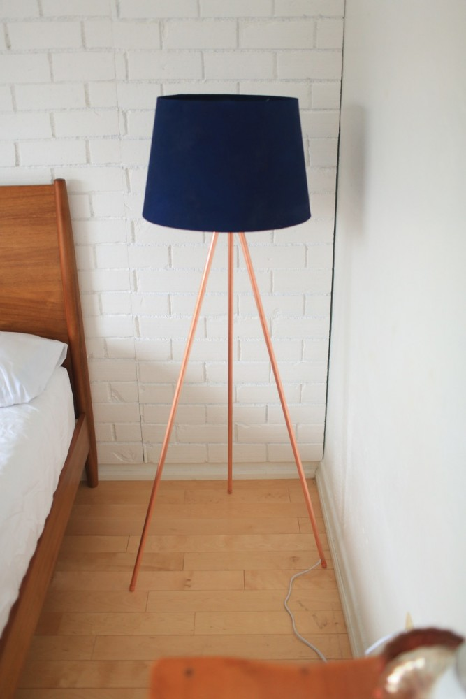 Diy Copper Tripod Lamp The Sorry Girls