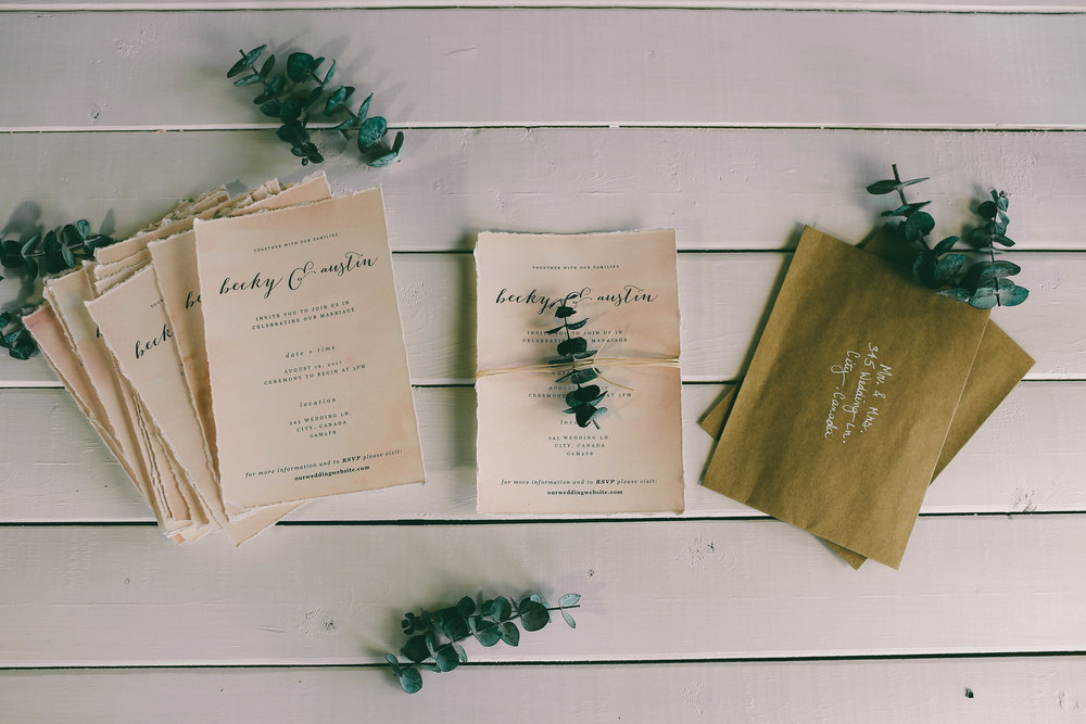diy my wedding invitations with me the sorry girls