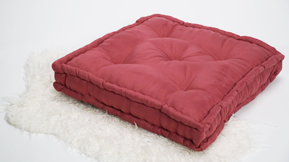 Cool Diy Floor Pillow The Sorry Girls Machost Co Dining Chair Design Ideas Machostcouk