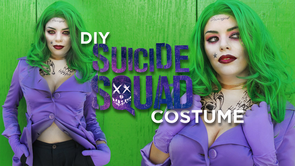 Diy Suicide Squad Joker Inspired Costume The Sorry Girls