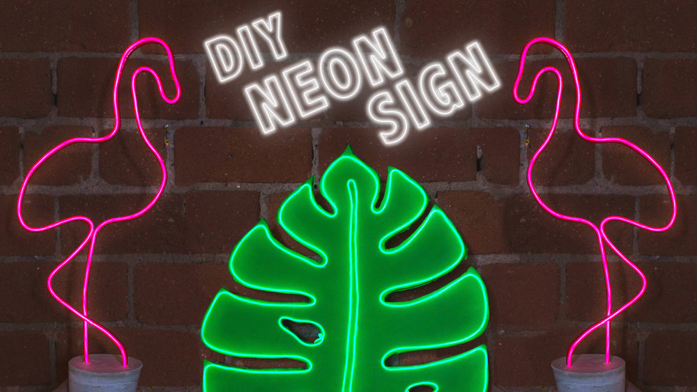 DIY NEON SIGNS FOR YOUR DORM ROOM — The Sorry Girls