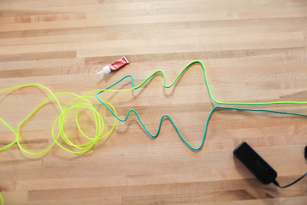 DIY NEON SIGNS for the HOLIDAYS — The Sorry Girls