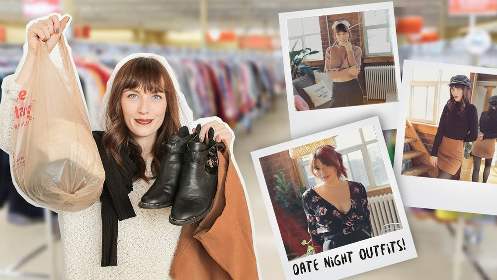 3ad82ff485 WE GOT OUR DATE OUTFITS FROM THE THRIFT STORE — The Sorry Girls