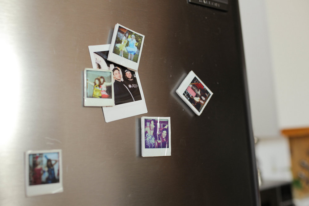 POLAROID FRIDGE MAGNETS