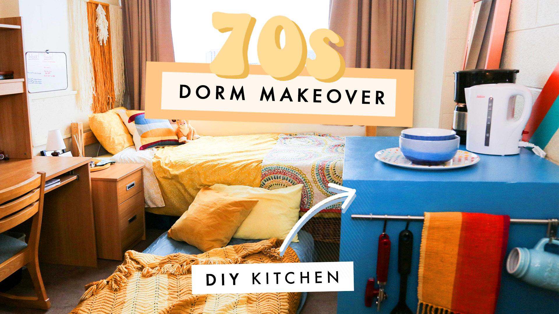 DIY 70s Dorm Room!