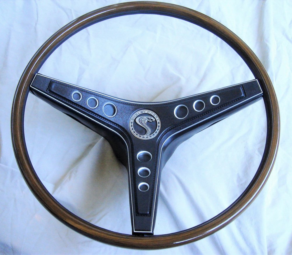 1969 Shelby rim blow steering wheel