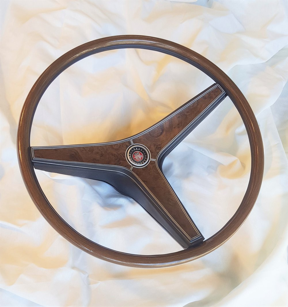 1969 Cougar XR7 rim blow steering wheel
