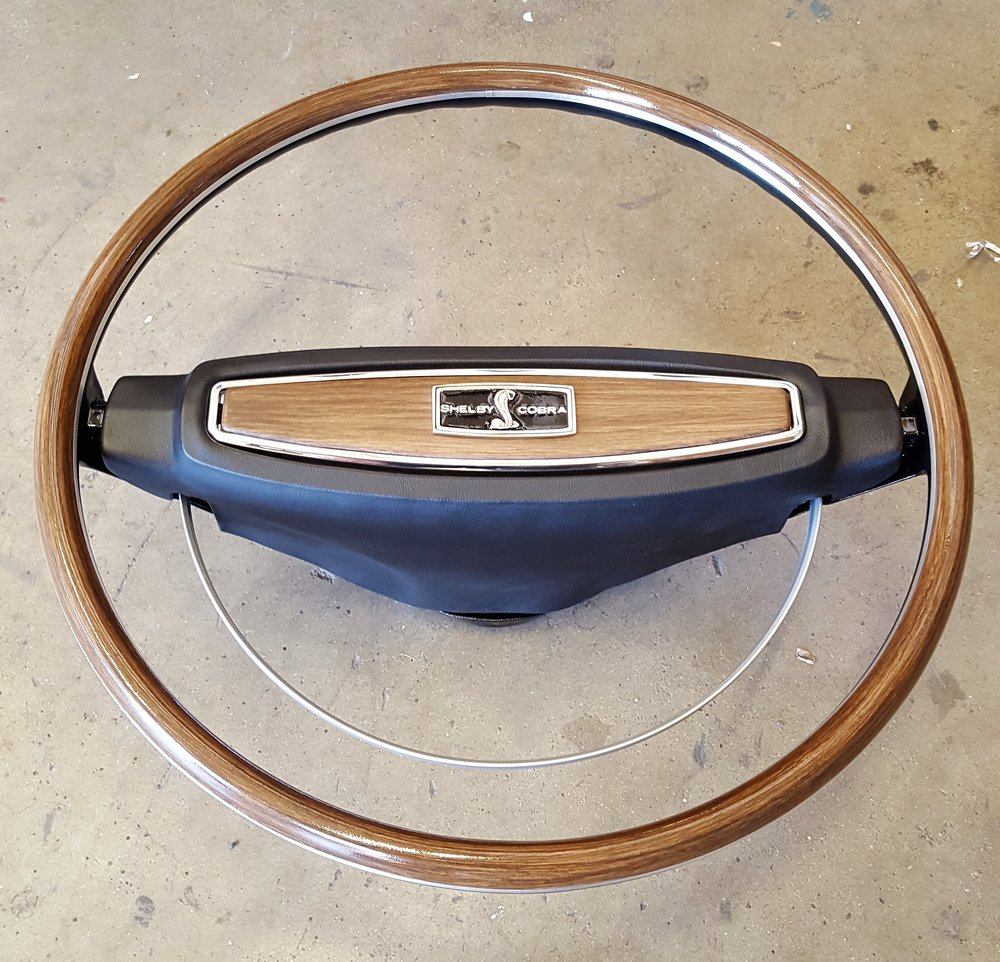 1968 Shelby deluxe steering wheel