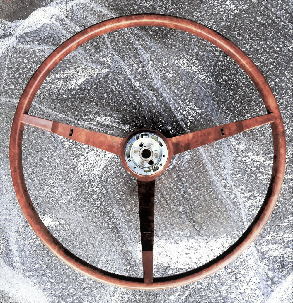 1963-64 Falcon Sprint deluxe steering wheel