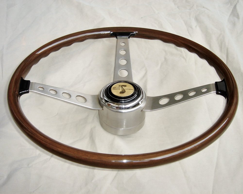 1967 Shelby wooden steering wheel