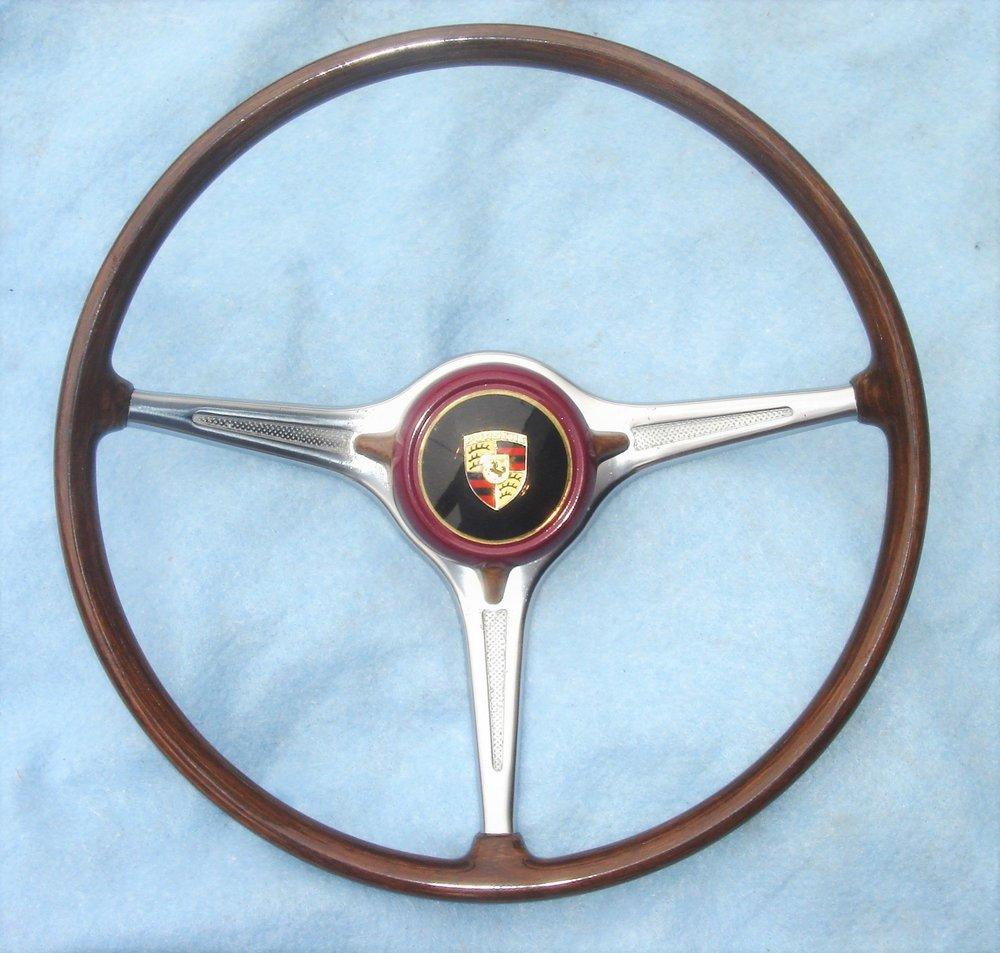 1959 Porsche steering wheel