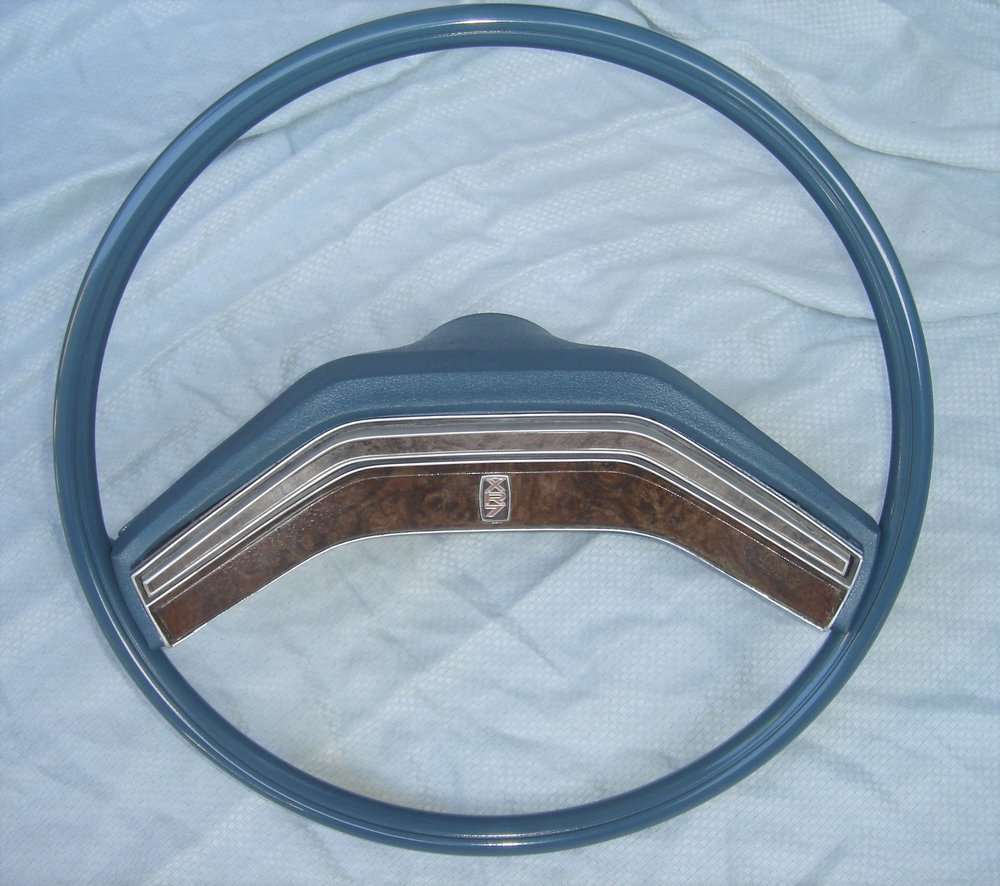 1977 Cougar XR7 steering wheel