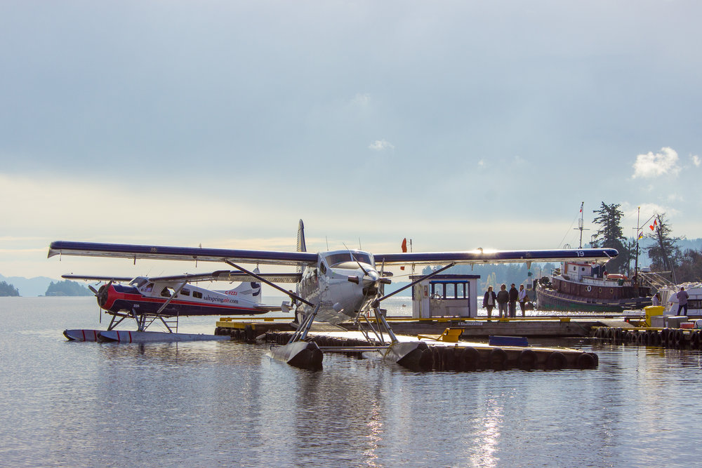 Salt Spring Island, Floatplane dock