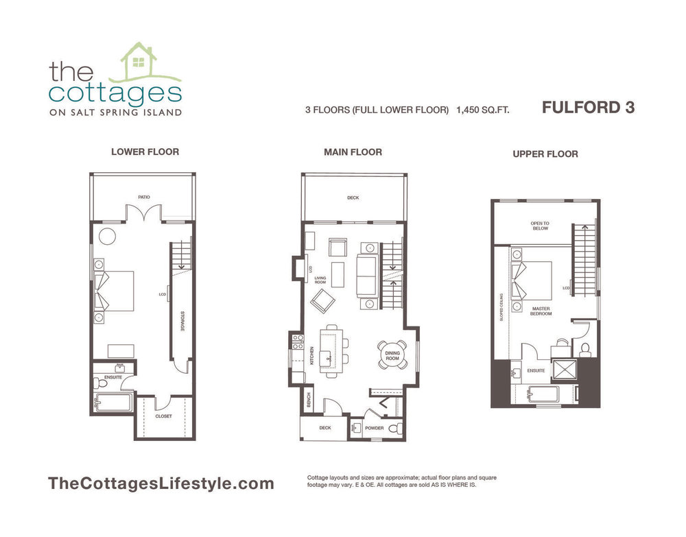 Cottages for sale - 3 Floors - 1,450 SQ.FT