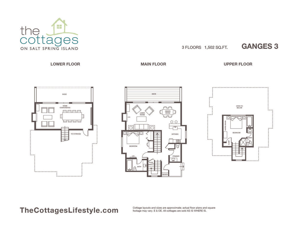 Cottages for sale - 3 Floors - 1,502 SQ.FT