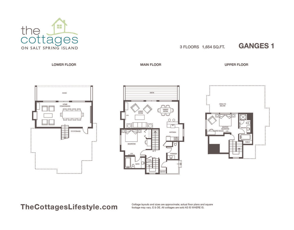 Cottages for sale - 3 Floors - 1,654 SQ.FT