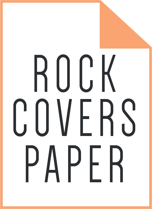 rock covers paper