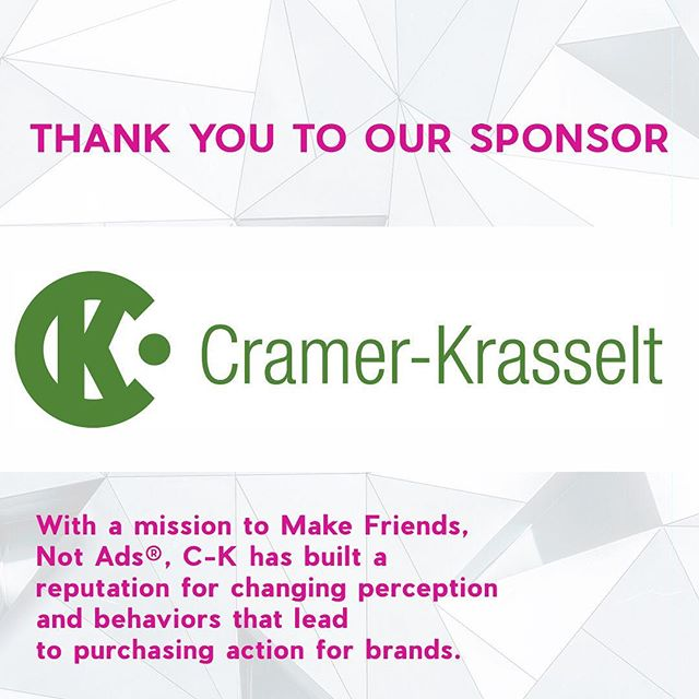 Thank you @cramerkrasselt for your sponsorship for Synergy 2019! We couldn't do it without your support.