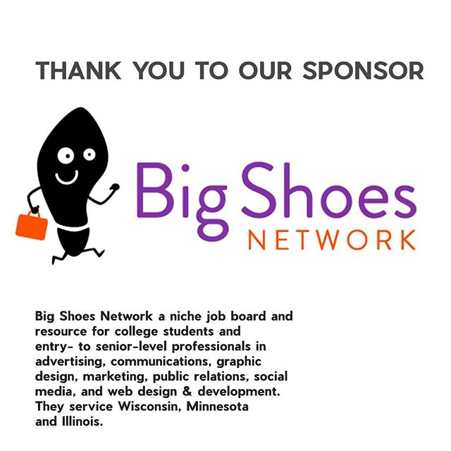 Thank you to our generous Synergy sponsors @bigshoesnetwork. Thank you making this event possible for young artists in Milwaukee!