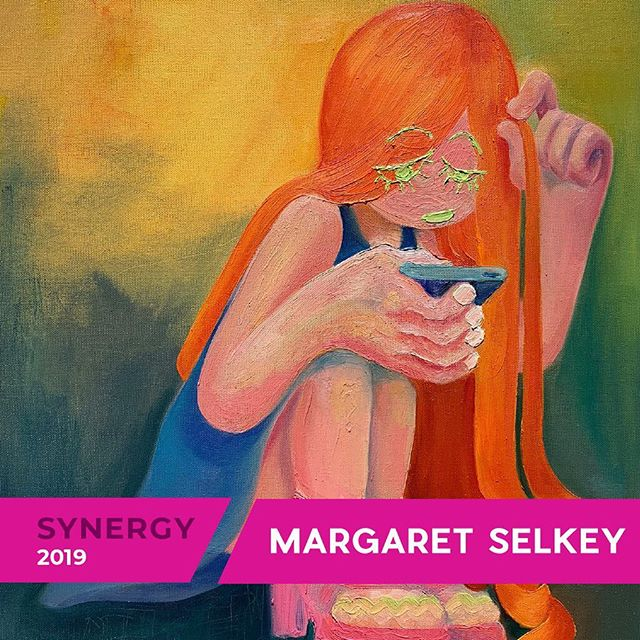 We're excited to have Margaret Selkey in the Synergy show happening MARCH 1st!! Join us for a night of emerging and diverse artwork, networking, drinks and live music at this student-run art show! More information: Link in bio