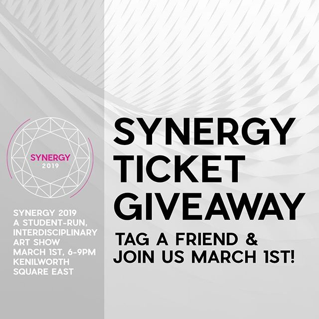 Win 2 free tickets to this Friday's Synergy show! Tag a friend you want to join for a night of emerging artists, live music, bar and snacks! This is a $24 value at the door. Winners must 1.) Follow AIGA-UWM 2.) Tag 1 friend - it's pretty easy, don't miss out! Winners will be announced Wednesday at noon.  What is Synergy? Synergy is a student-run, interdisciplinary art show. We bring together students from across Milwaukee, and a wide range of disciplines, to showcase and sell student artwork. The show duals as a fundraiser for the AIGA – UWM Student Group and is an opportunity for young artists and designers to participate in a professional art show, which allows them to gain experience and networking skills.