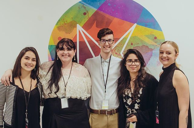 It's time to start reflecting back on Synergy 2019! Thank you to everyone who came out to support both AIGA-UWM and our talented young artists! Again, thank you to our sponsors - we couldn't have done it without you! Let's congratulate the AIGA-UWM board on a successful show! #milwaukeeartist #aiga #aigauwm #design #uwm