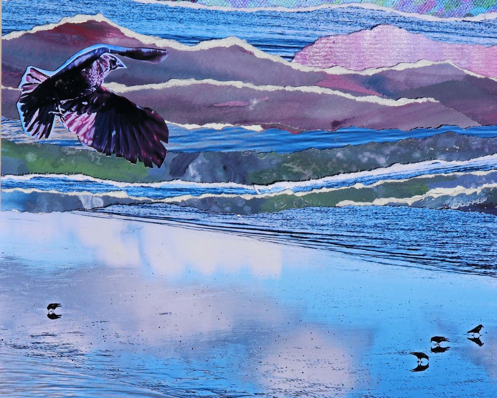Artwork: 'Fraser in Cascadia' by Janet Kvammen