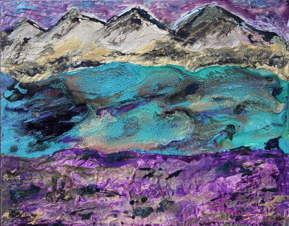 Artwork: 'Fraser Dreams Wake' by Janet Kvammen