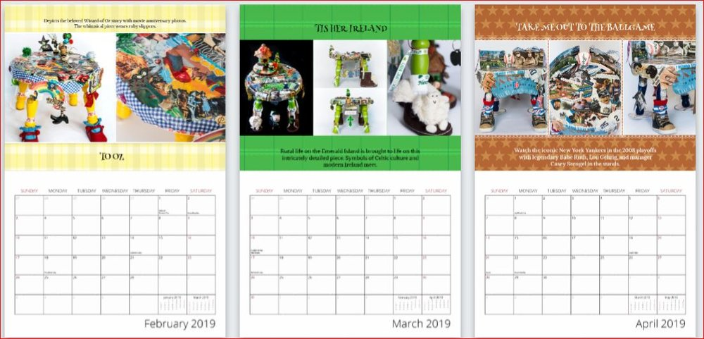 2019 Fundraiser Calendar $15 (includes shipping) - SCROLL DOWN TO ORDERWe thank PrintingCenterUSA in Great Falls, Montana, for their nonprofit discount on our fundraising calendars! https://www.printingcenterusa.com