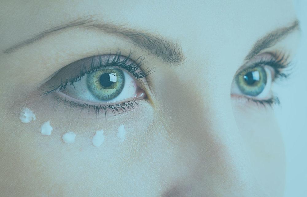 Under eye -