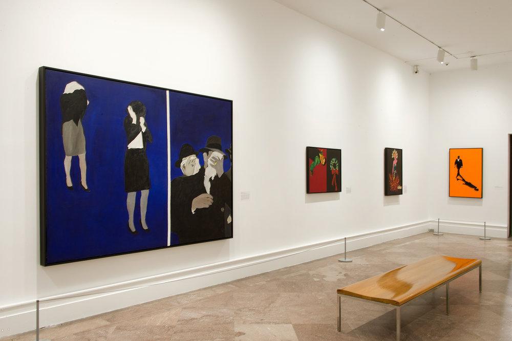 Rosalyn Drexler: Who Does She Think She Is? - February 11, 2016–June 6, 2016Rose Art Museum, Brandeis University, Waltham, Massachusetts; Albright Knox Art Gallery, Buffalo, October 22, 2016–January 29, 2017; Mildred Lane Kemper Art Museum, Washington University, St. Louis, February 10–April 17, 2017