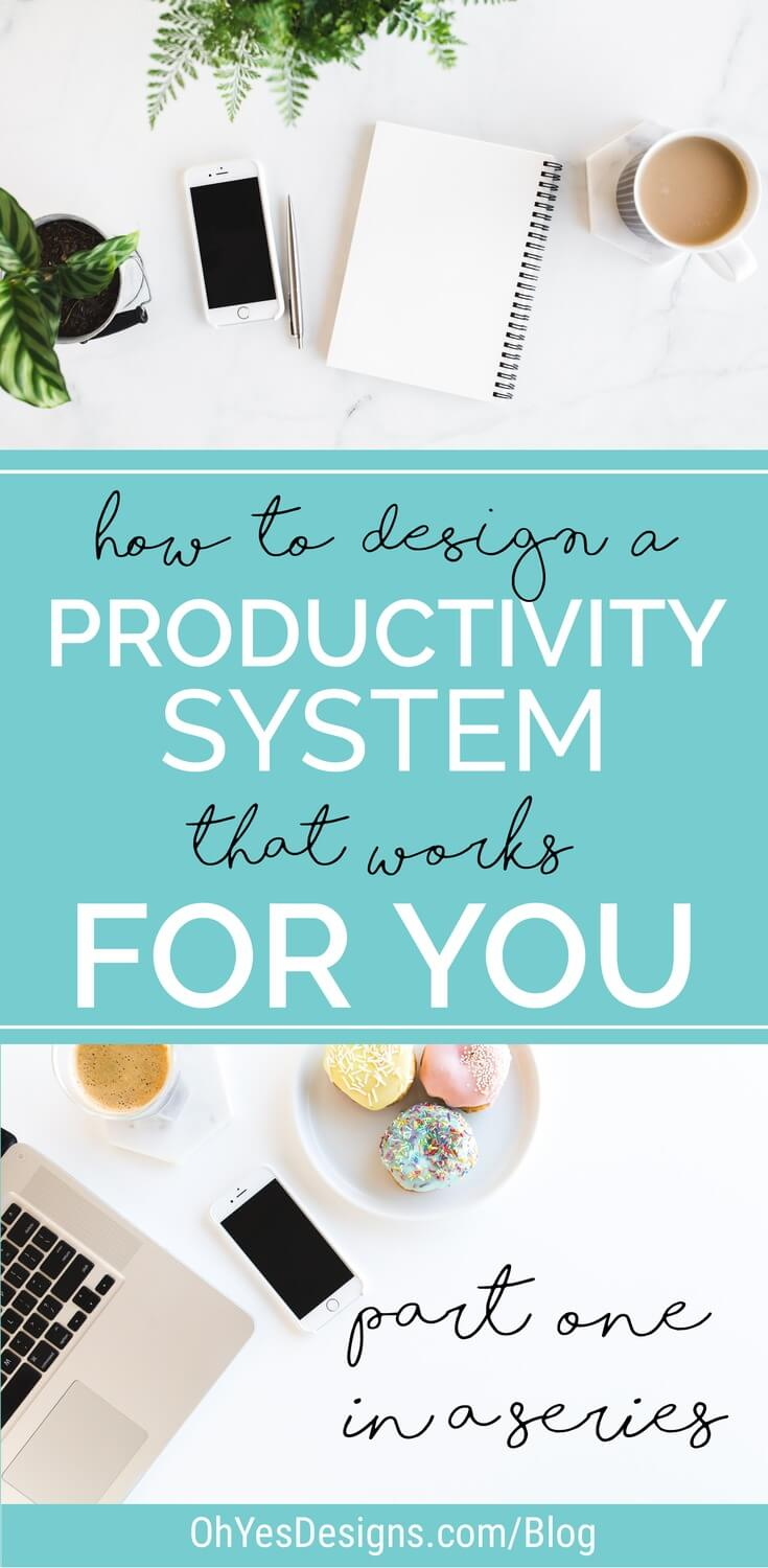 Feeling overwhelmed by all there is to do in your creative business? Check out this article on how to design your unique productivity system.