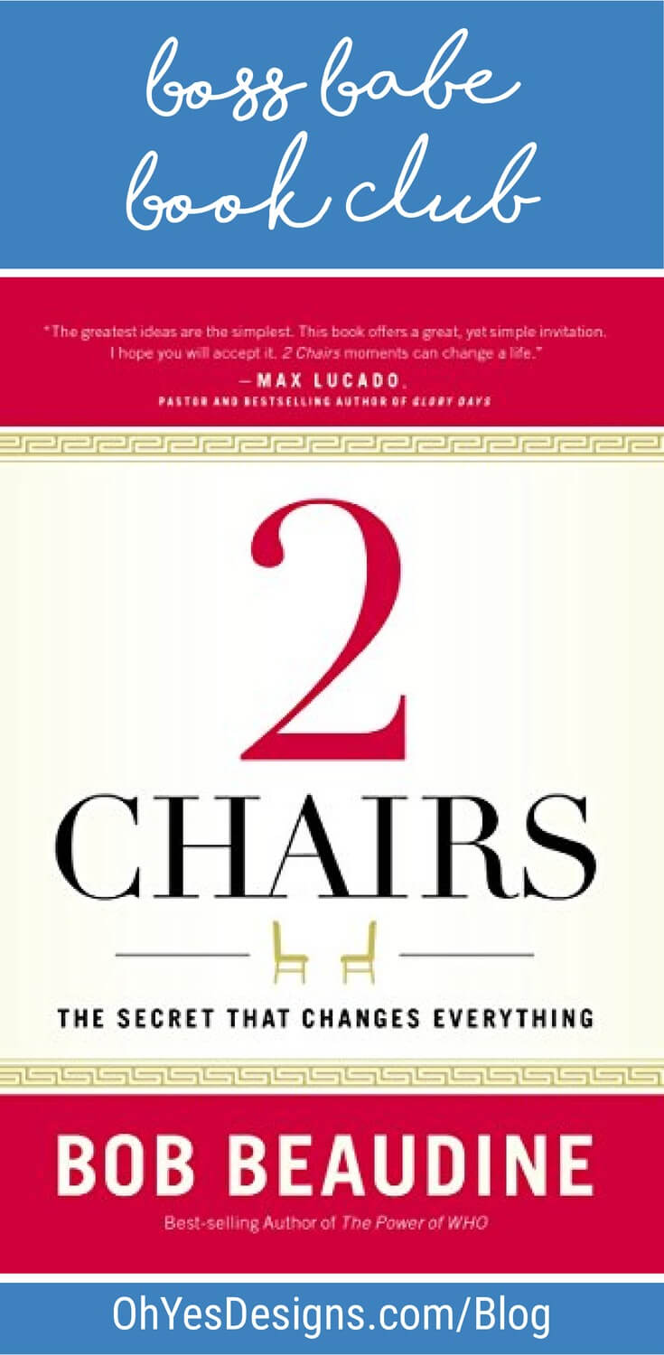 2 Chairs, by Bob Beaudine - book review