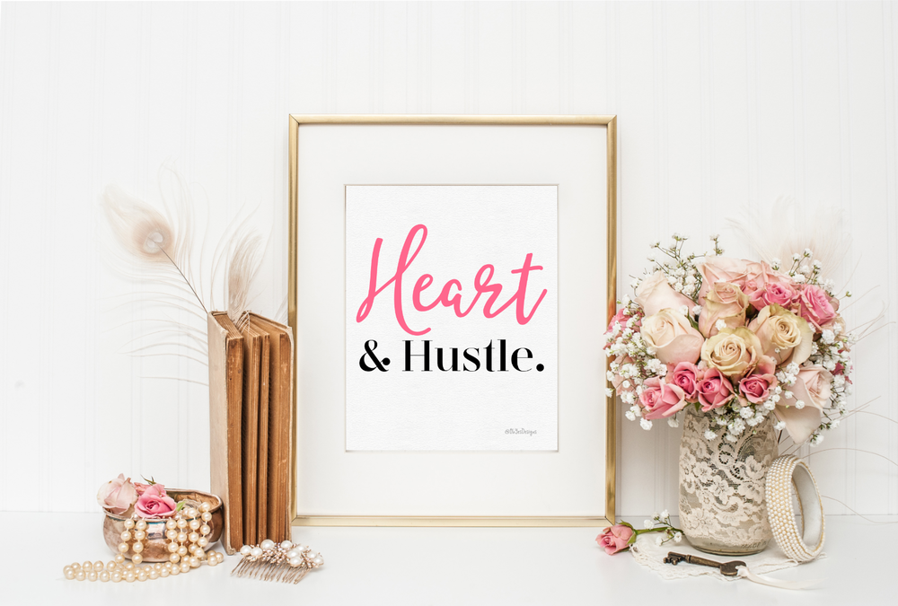 Inspirational wall art and lifestyle products for creative, female entrepreneurs