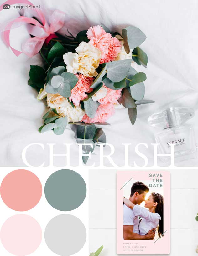 Gorgeous color palette from magnetStreet