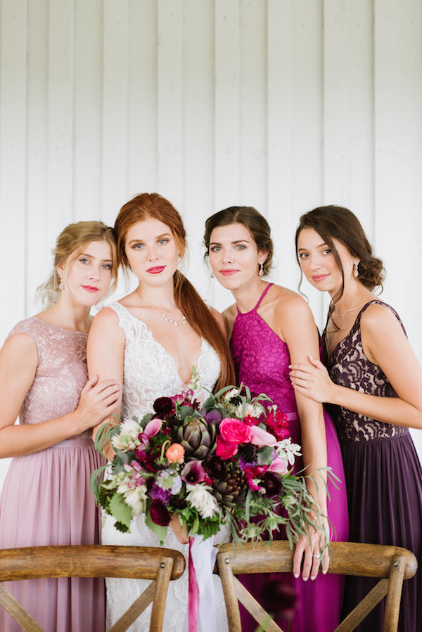 Love this photo by Lauren Rae Photography, as seen on The Perfect Palette