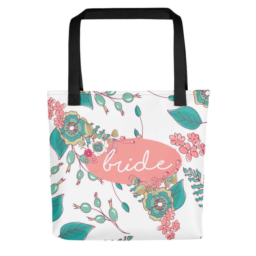 bride-tote-bag-floral