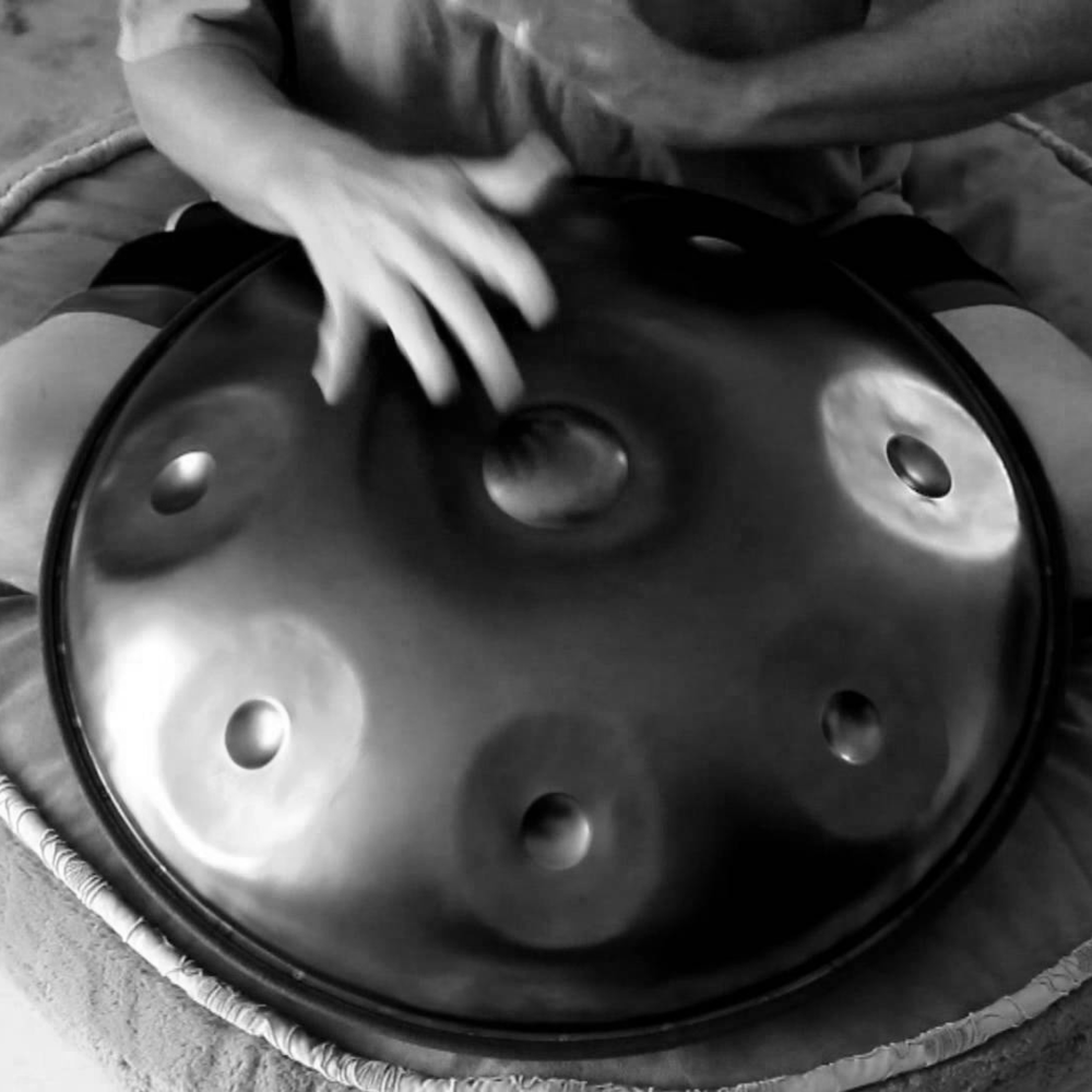 Local hand pan maker extraordinaire: - Samadhi Soundscapes
