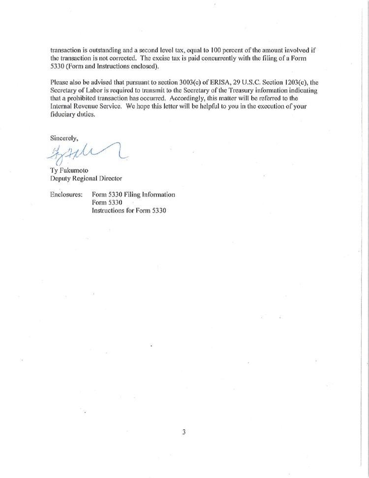 Sag Pension And Health Trustees Fiduciary Breaches Pete Antico