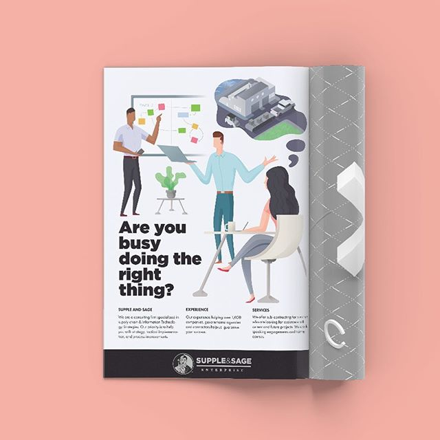 Finished this illustration project. Happy with the result and enjoying the message as well, strategy is so important but without action results won't come.  _______ #addesign #magazinedesign #e49creativeco #illustration_daily #dailyinspiration #graphicdesign #designinspiration #brainstorming