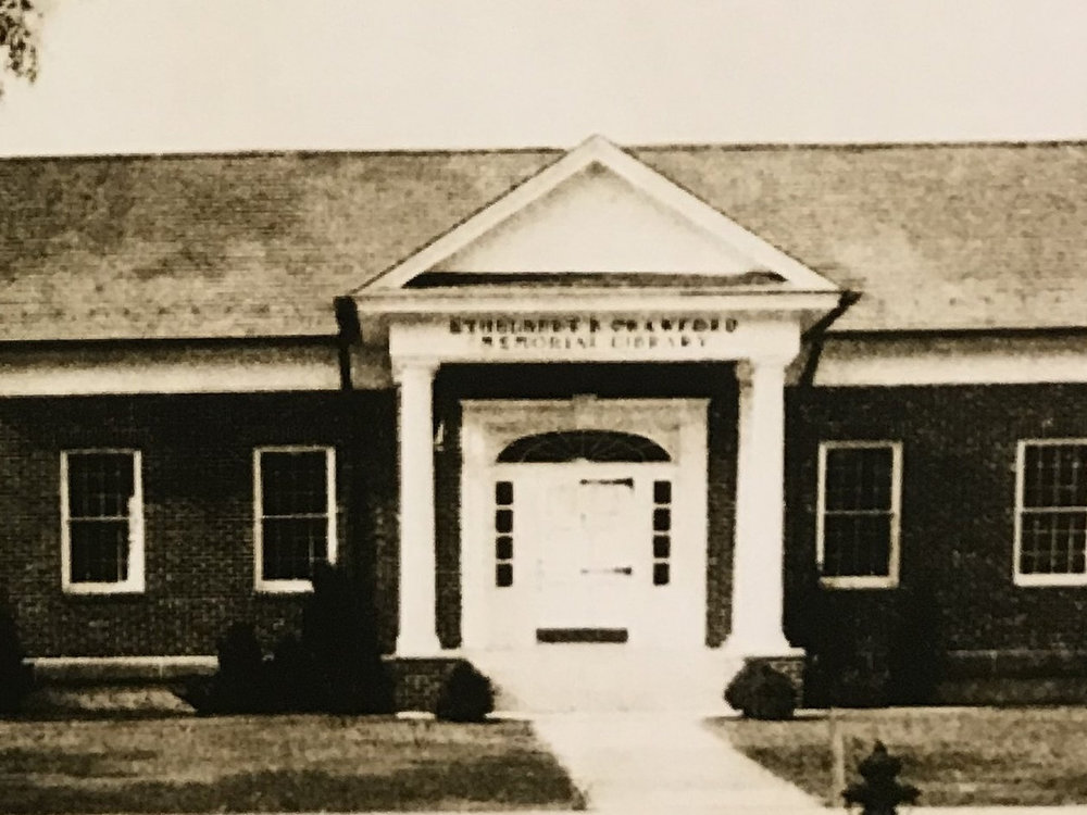 - The History of The Ethelbert B Crawford Public Library