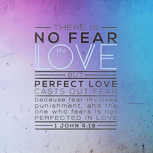 Needed this today #loveoverfear #trustgod #youcat