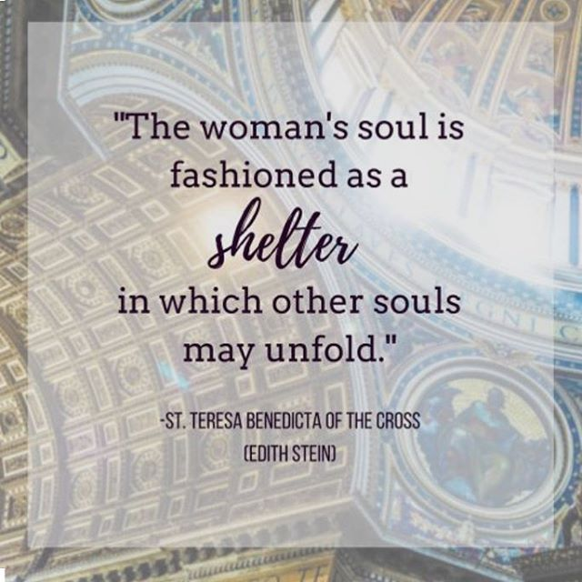 Happy Feast day of St. Teresa Benedicta of the Cross, saint and martyr! #edithstein #feastday #authenticwomanhood
