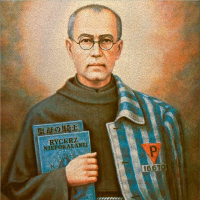 """The most deadly poison of our time is indifference"" St. Maximilian Kolbe • • • In light of today's feast day and recent events in our country, a few thoughts on the blog. Link in bio. #stmaximiliankolbe #feastday #saints #indifference #fear #love"