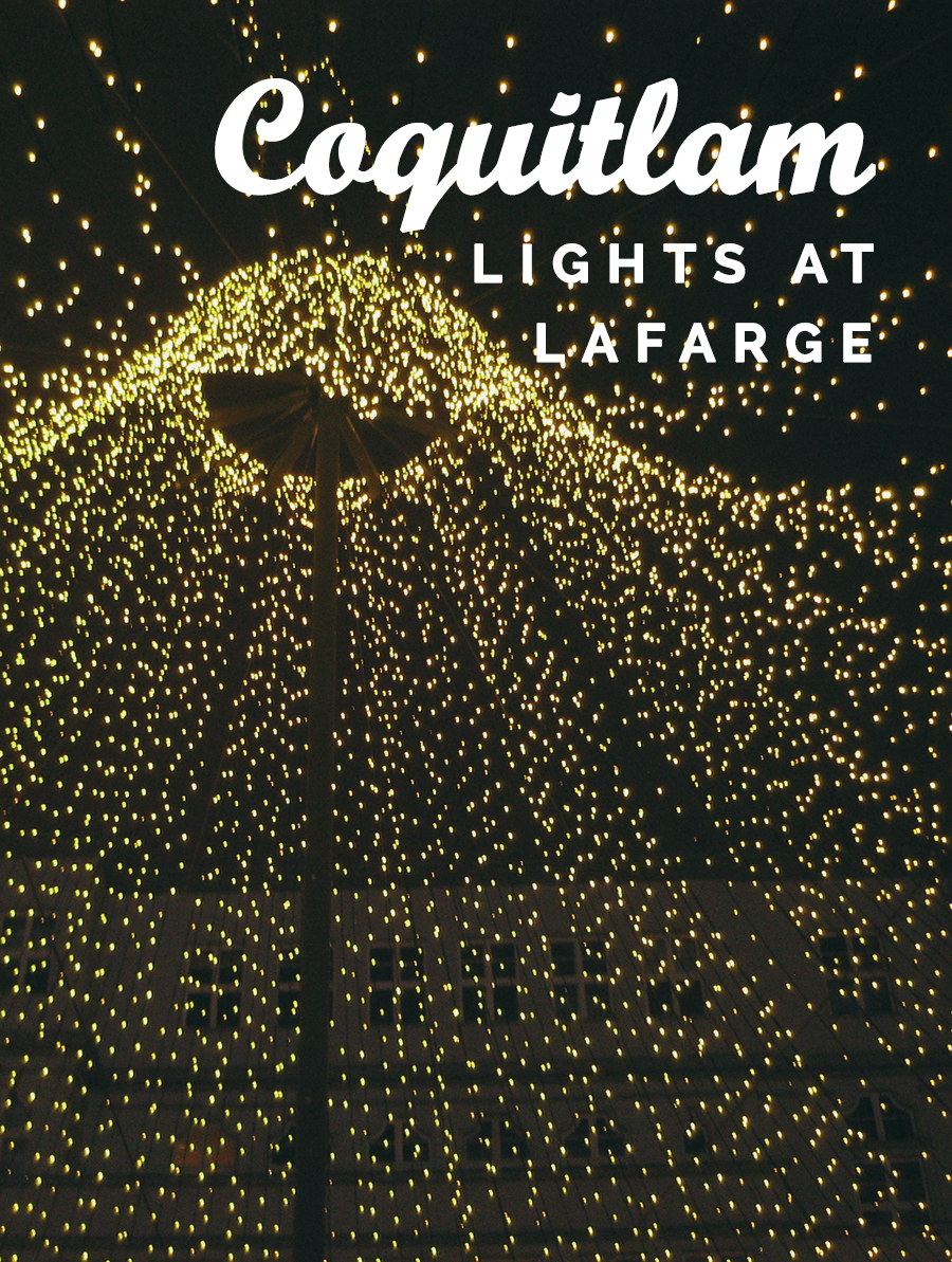 Lights at Lafarge - Amidst all the dazzling Christmas lights in Vancouver, this light display in Coquitlam shines bright with its long illuminated walkway along the Lafarge Lake. The 1.2-kilometre walk is stroller-friendly (roads are mostly paved), leading the visitors through 10 different themed zones. Best of all -- unlike many other Christmas lights competitors around town -- this incredible lake view and lights are all for you to enjoy for FREE!WHEN: November 25 - January 21 • 5:30pm to 11pmWHERE: Lafarge Lake and Town Centre Park, 1299 Pinetree Way, Coquitlam (map)COST: FREE