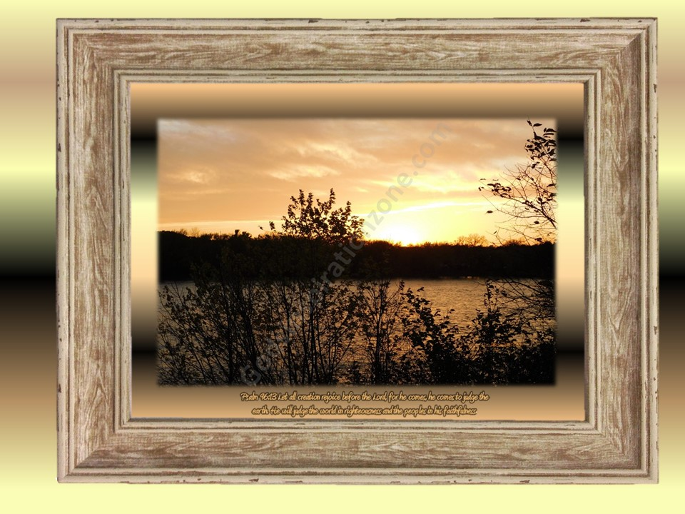 Psalm 96:13 Let all Creation Rejoice! Before The Lord! Taken at little Falls Mississippi River. #26