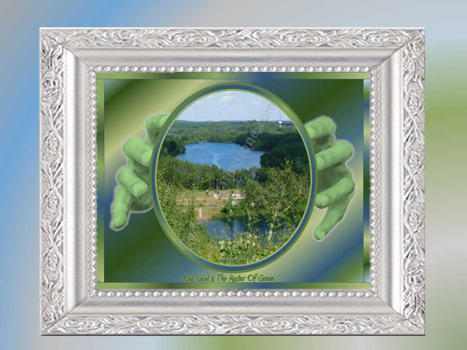 Our God Is The Master of Green: I took This Image in Ironton, MN also at a different time in the summer #65