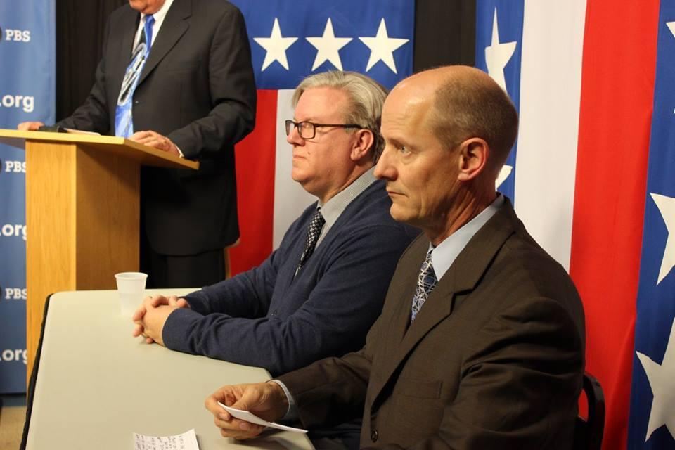 This is Photo of the Debates the I Videotaped for Lakeland Public Broadcasting Brainerd, MN