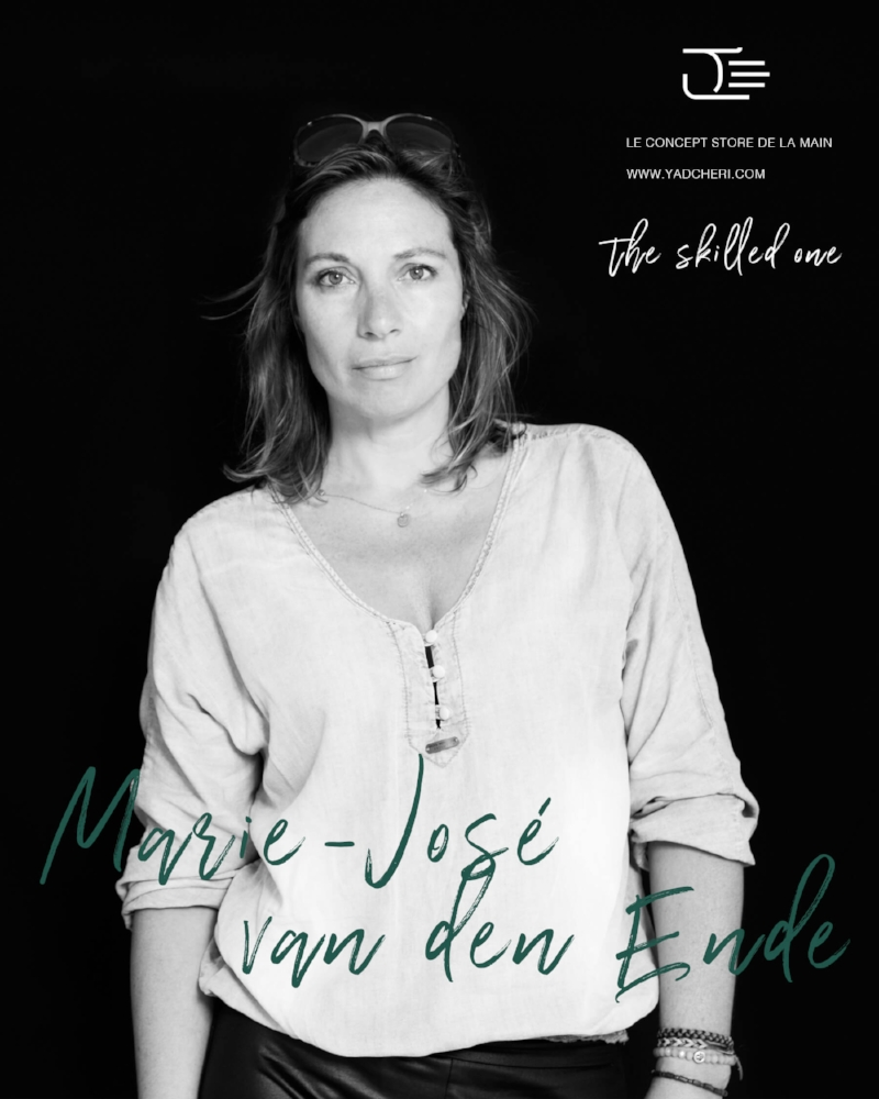 Marie-José tells us to Shake it Baby! After working for several years as a men's fashion buyer and later as a magazine photographer, she branched out to start her own brand.