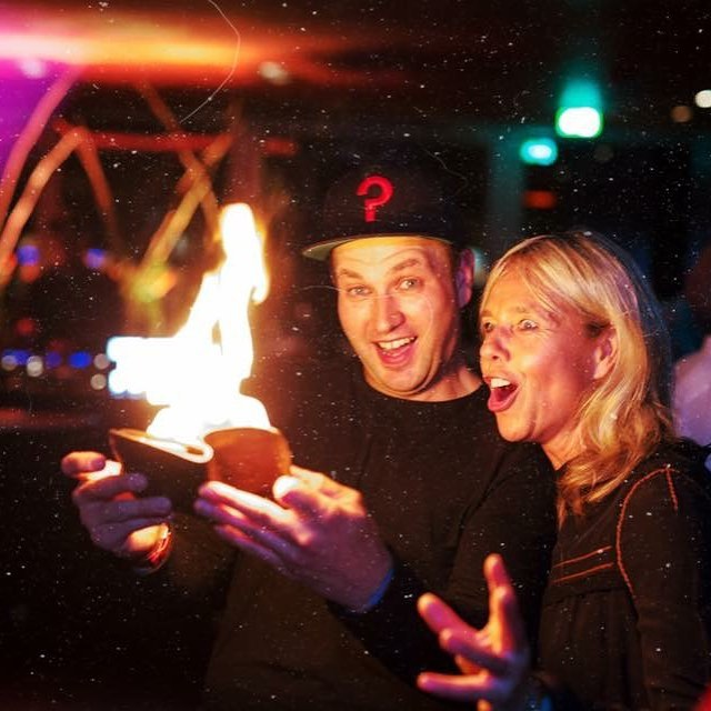 @bdkbass @patriciafiolka #bielefeld #magic #fire #fun #deephouse #vip